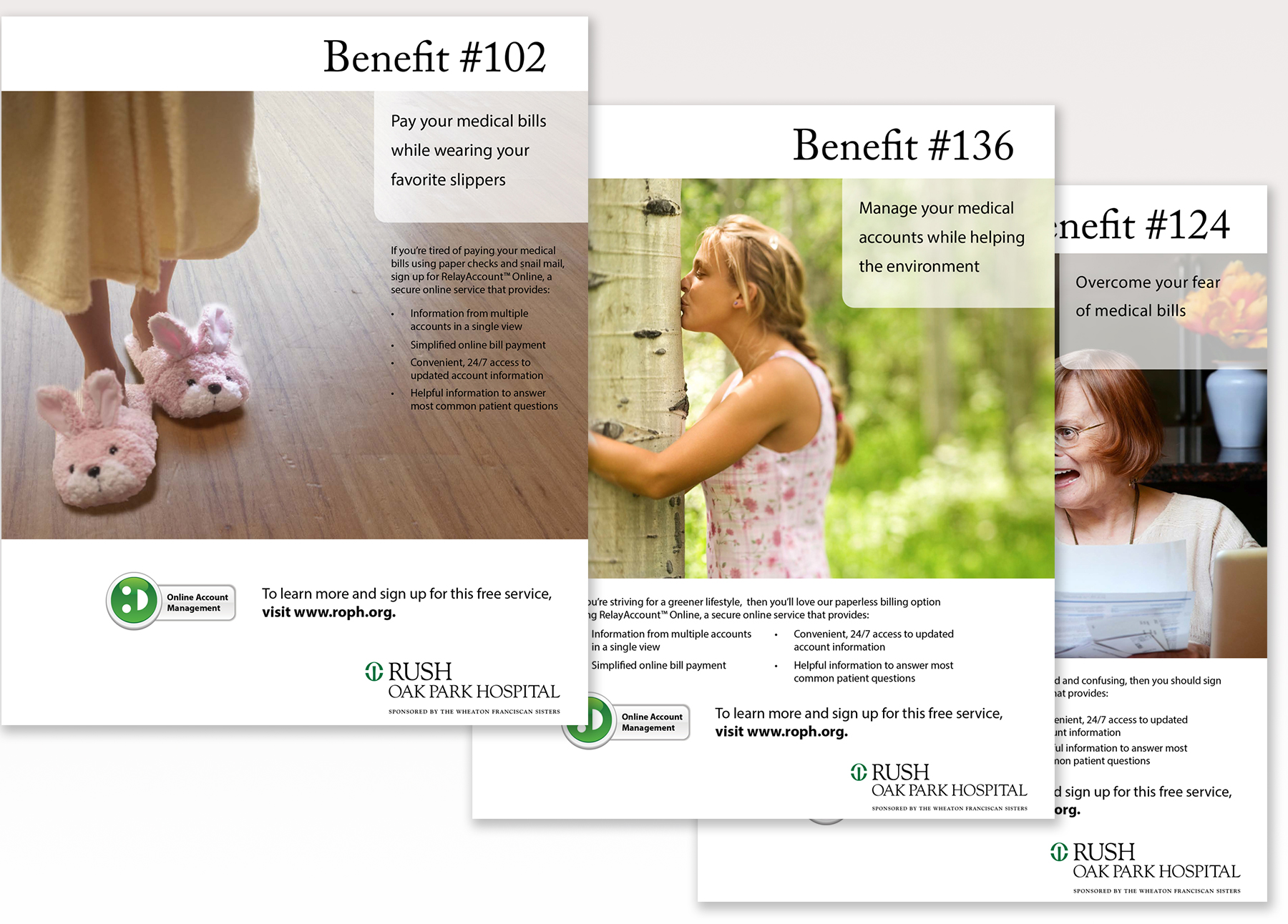 Benefit Ad Series